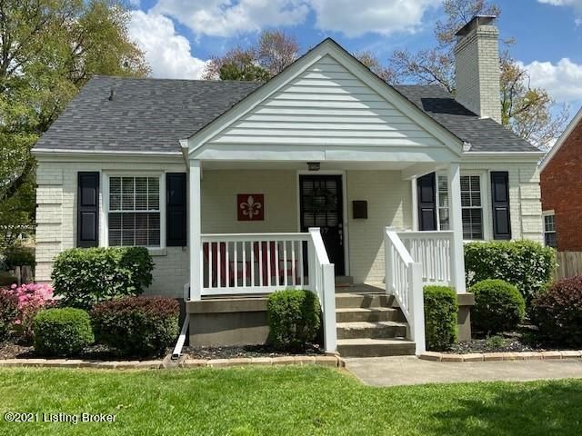 What a dollhouse!  Thoroughly updated St. Matthews Cape Cod with finished basement.  Tons of light throughout the home.  Kitchen is equipped with granite and stainless appliances and opens to the dining space.  The appliances will remain along with washer and dryer.  So many updates-newer HVAC, windows and roof along with all the cosmetics....