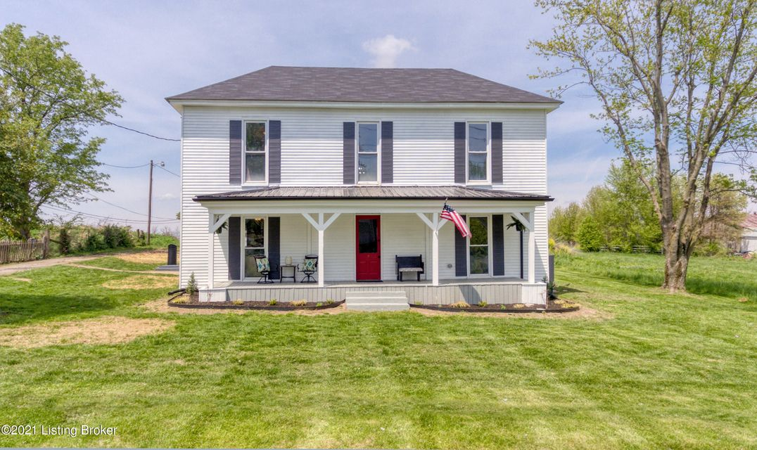 Have you been looking for the perfect farmhouse? Here it is 3 beds & 2.5 baths updated throughout in Pleasureville! You will have to see it in person to believe the wonderful touches the owners have put into the place including shiplap/siding exposed. The first floor boasts the farmhouse eat-in  kitchen with butcher block counters, island,...
