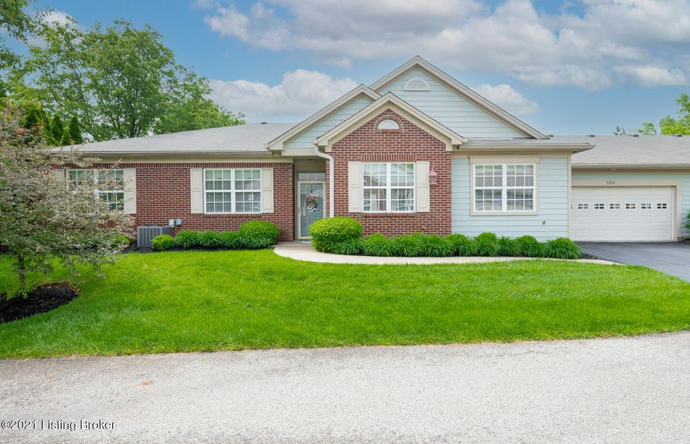 Open and spacious all on a single floor.  This two bedroom , two full bath home has been fully updated and is in perfect condition.  Nine ft ceillings,  closets, laundry room and gargage designed by Closets By Design.  Sunroom fireplace and surround sound thought home.