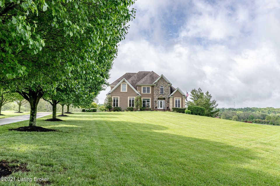 Improved Price! Absolutely beautiful 5BR, 3.5BA finished walkout home w/ pool & 3 car garage+ on 7 plus acres! This gorgeous home features a remodeled eat in kitchen w/ granite, backsplash, center island, & stainless steel appl. incl double oven + convection, large pantry, hearth room, 2 story great room w/center FP & bookshelves, open dining room w/decorative columns, large 1st fl master suite w/ double trey ceiling w/rope lighting plus remodeled master BA w/granite dual sinks, sep whirlpool/shower, & large walk in closet. Upstairs features 3 spacious BRs & loft plus full BA w/granite! The walkout LL features a stunning wet bar w/granite & 2nd full kitchen, media, game, exercise room, BR, full BA w/granite, & gigantic amazing laundry room (hook ups also available on