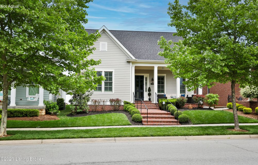 This impeccably maintained, four bedroom, three-and-a-half-bath home is located in the heart of Norton Commons and is just a quick walk away from the town center's shops and restaurants. The brick paved front porch welcomes you to the property and the custom storm door sets the stage for the quality that continues throughout. This property...