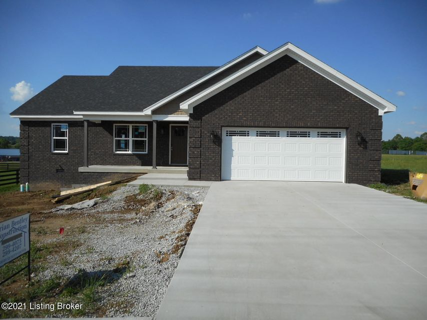 Beautiful new ranch home. Almost completed and ready for the new owner.