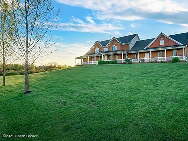 Welcome to 3376 Drennon Road!  This custom built home nestled on 100.09 acres boasts an open floor plan with 8 bedrooms, 6.5 bathrooms.  The library offers a quiet retreat with built-in shelving and breath taking views.  Enjoy nature from the screened in rear deck while enjoying one of 2 double sided fireplaces.  The eat in kitchen will no doubt be a favorite for family gatherings while the formal dining room can gladly accept the overflow.  Enjoy a bonus living area, with fireplace,  in the primary bedroom, a large walk-in closet and steam shower.  Don't enjoy walking stairs?  No worries, this home has an elevator!   Foam insulation in attic, fresh air exchange, concrete construction and solar panelsHome on 8.2 acres available for $895,000