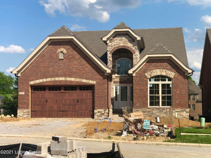Homerama award winning Welch Builders Avalon walkout model with estimated completion in July 2021.