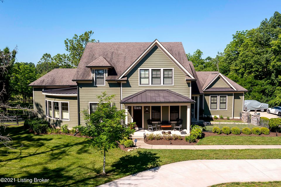 This unique 1.5 story home sits on 2.15 acres and features custom touches throughout.  The owner has made many upgrades since 2017 including:  Circular Driveway, an in-ground salt water system swimming pool with tanning ledge, a large patio, a rock retaining wall, a waterfall, a hot tub pad with electric, washer dryer hookups & changing area in garage, Longwood Antique Hardwood Floors in the Master Bedroom & Master Closet, a Copper Freestanding bathtub with Nickel lining in the Master Bathroom, electric for future power screens to the back porch, concrete pad for the generator, full farm fence with mesh, an epoxy garage floor, hardwood floors have been refinished, matching shutters in Master and more.  All bedrooms have bathroom access and feature walk in closets.  2 offices (his and hers)