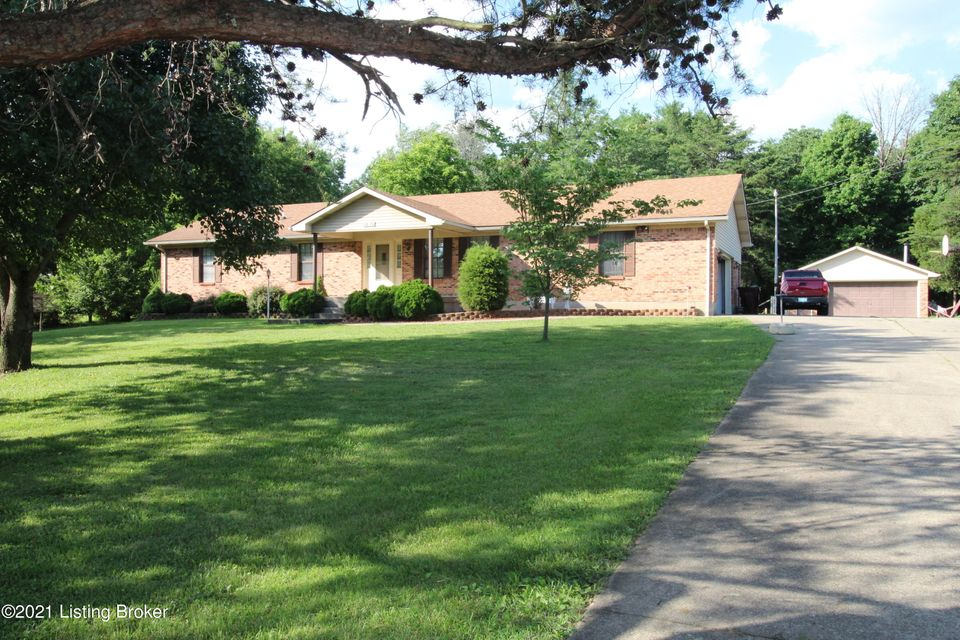 A little bit of PARADISE!! Hard to find one owner ranch home on 6 acres with attached garage, detached garage, and pole barn!  Home and property has been well maintained and loved for decades and welcomes the next family to love and take care of it.  Home has large living room and good size kitchen (all kitchen appliances remain).  The unfiinished...
