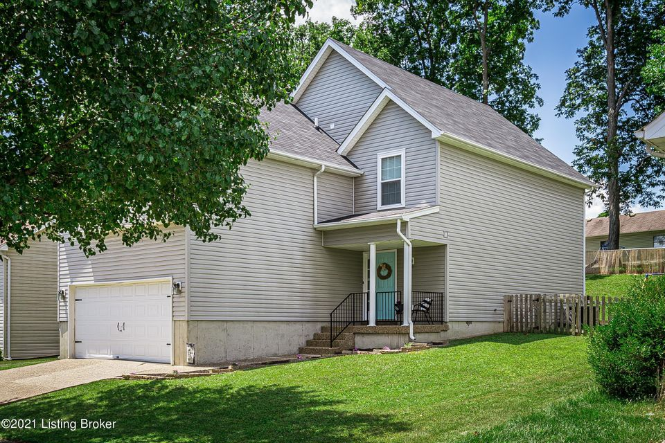 Don't miss out on this lovely home in the highly sought after Springview neighborhood! With nearly 2,000 sq/ft, a 2 car garage, 4 bedrooms (2 options for the master bedroom), and vaulted ceilings, this home has a TON of space! On the first floor you'll find the spacious living room with vaulted ceilings that carry up to the 2nd floor loft, an option for the master bedroom, and a great sized kitchen. On the 2nd floor you'll have 3 bedrooms and a loft area that can be used as an office, bonus sitting area, play area, and more! Don't forget about the enormous second master bedroom option that has a large walk-in closet! This home truly has so much to offer and with new windows, a new water heater, new paint, and more, this home is MOVE-IN-READY! Schedule your showing today!