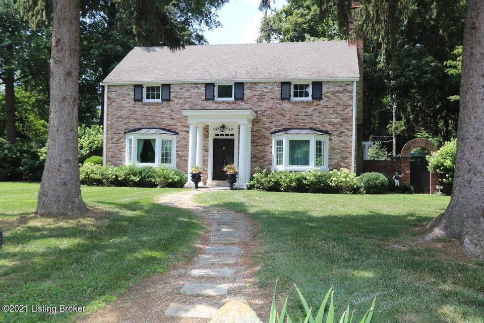Be prepared to fall in love with this stately center hall colonial situated on an exceptional near half acre lot that was professionally landscaped with detail and design that must be seen to appreciate.  Upon entering the home to the right of the foyer is a spacious formal living room with wood burning fireplace, built in shelving, and a...