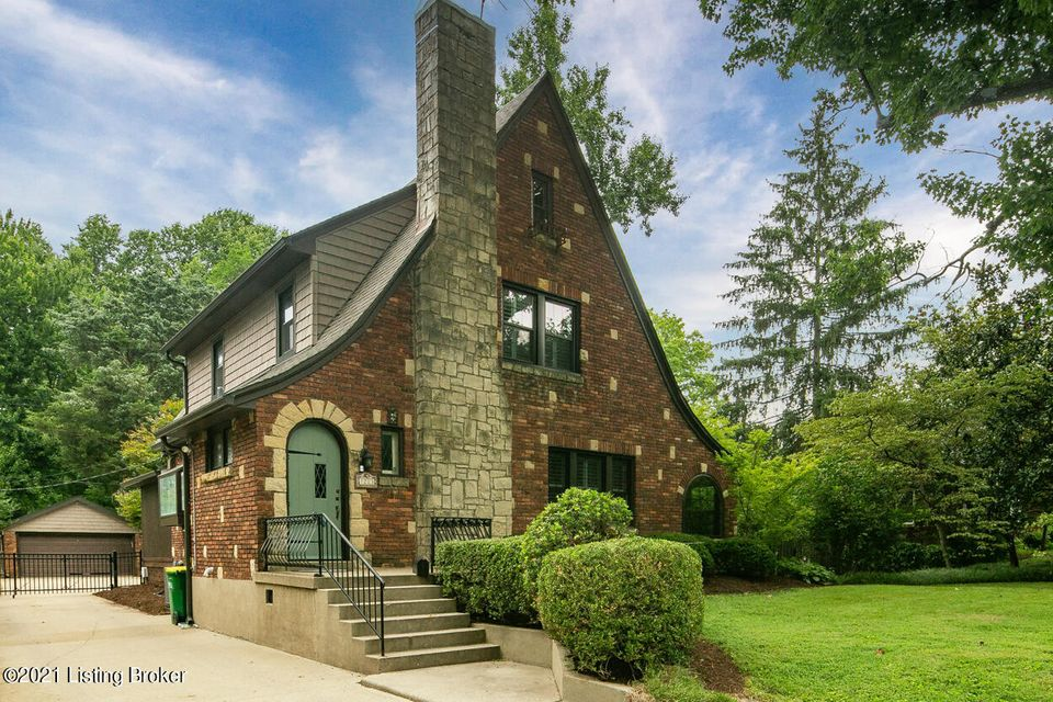 AUDUBON PARK at its finest. This stunning Tudor Revival sits proudly on the parkway, on a TRUE DOUBLE-LOT, one of only a handful left, nearing 1/2 of an acre. Unparalleled privacy abounds, especially in the park-like backyard that features an incredible IN-GROUND POOL, covered deck for entertaining, and unrivaled green space in all directions....