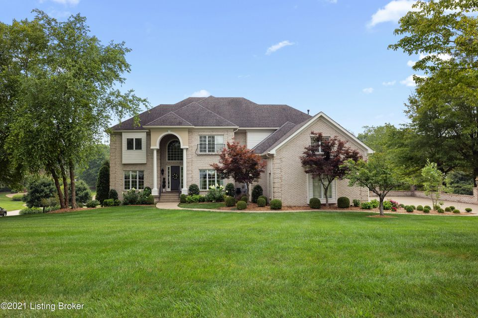 Welcome to a gorgeous oasis in the Estates of Hunting Creek, which sits on the only neighborhood street in the desirable Oldham County School District! The allure of this home is boundless. It is very grand with high end finishes throughout, yet it feels cozy and extremely functional at the same time. The home was custom built in 2000 by Carl...