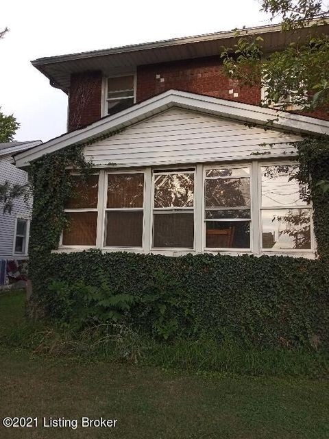 Brick duplex close to the interstate and bus line. There was a new roof put on in 2019, water heater was replaced 2020.The basement has a rear entrance that has a efficency apt. All living spaces are filled.