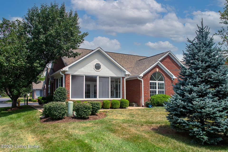 Freshly painted and brand new carpet just installed for the new owner - this lovely 3 bedroom, 2 full bath patio home is just what you are looking for in a one level floor plan. Conveniently located just off 22 in front of Standard Country Club and near all of the shopping and amenities of the Paddock Shops, Kroger, Springhurst and Costco. The primary bedroom has a large bathroom with dual vanity and spacious walk-in closet. Two additional bedrooms for guests, hobbies, or office.