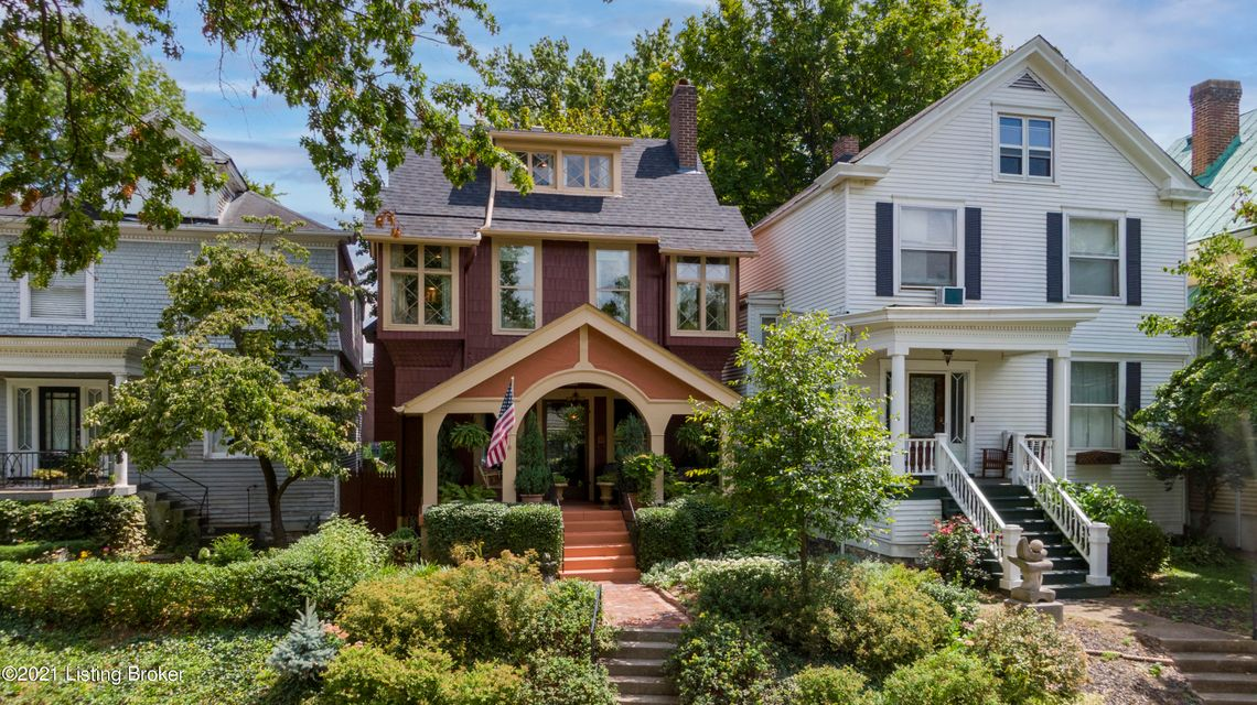 First Showings at the Open House this Saturday, August 21st from 2-5pm... Welcome to 2216 Patterson Avenue located in Beautiful and Historic Cherokee Triangle.  This Striking 1906 Craftsman home has a wonderful Swiss Chalet-Esque feel and features many interesting turn-of-the-century arts and crafts architectural details.  The home greets...