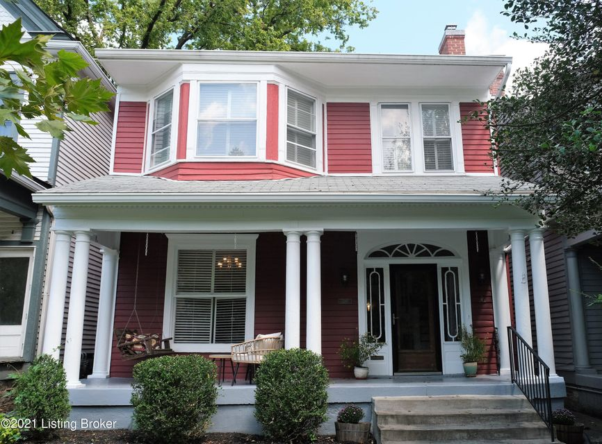 New listing in Cherokee triangle.  Lovely turn of the century home.  Nostalgic front porch.  All of the charm you expect is waiting for you in this 3 bedroom home.  Kitchen is spacious and updated and opens to large deck.  Off street parking in rear.  Home has been lovingly cared for by present owner and is close to all of the Cherokee Park...