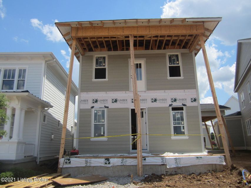 New plan by Bentley Construction- just steps away from the amphitheater, Oval Park & Town Center! The first floor is wide open with a spacious great room, kitchen and dining area which open to a covered porch with fireplace.  First floor also features a flex room with glass pocket doors and a mud room with built-in drop zone, bench and cubbies....