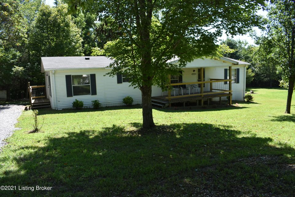 Move in Ready 3 bedroom, 2 bath double-wide modular on 1.5 acres! Located in a great lake community with boat ramp 1.5 miles from the property. This home has been used as an AirBNB rental. Seller will consider selling turnkey if buyer is interested. Large lot will provide plenty of space to add garage or pole barn for all your lake toys. Check...