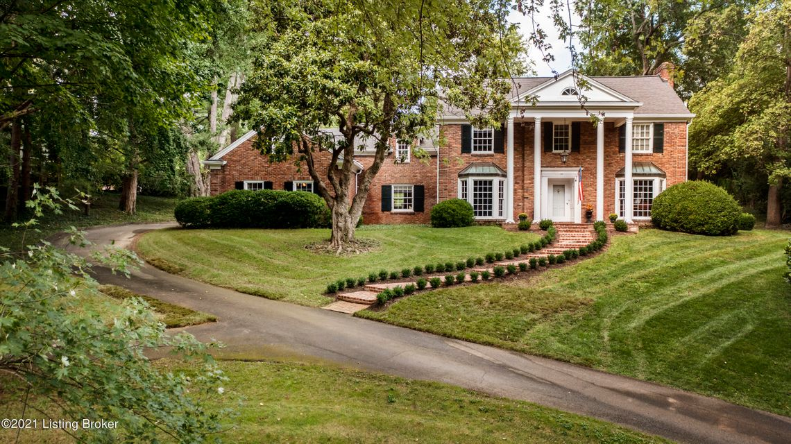 Nestled in the prestigious country club section of Indian Hills, fall in love with this newly updated colonial home. Relax in the peaceful, park-like setting while being minutes away from major roads and interstates. The beautiful brick covered front porch overlooks mature trees, new walkway and large circular driveway. Welcome guests through...