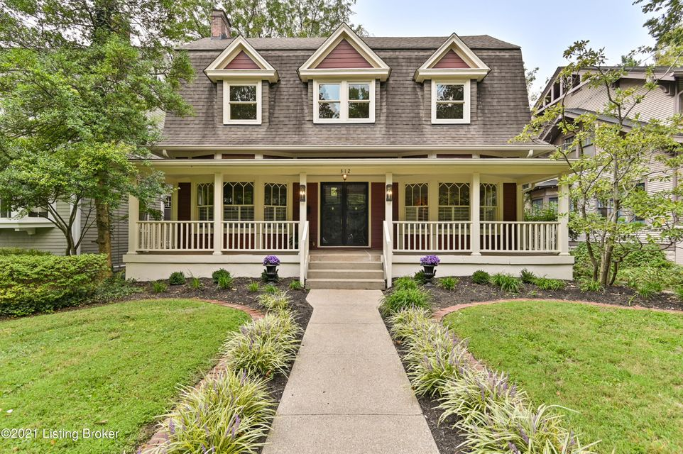 This handsome Bungalow styled home with an expansive front porch is located in sought after Crescent Hill within walking distance of many restaurants and local shops. The home maintains the architectural character of the early 1900's while offering the the modern updates sought after in today's lifestyle. In 2006, the home went through a renovation...