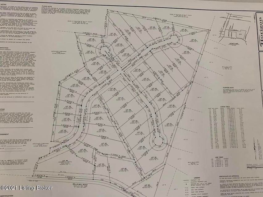 Beautiful lot in the New Section of Maplehurst Estates Subdivision See additional lots on Brennan Ct., Tommy Ct., John Paul Ct. and Bells Mill Rd.