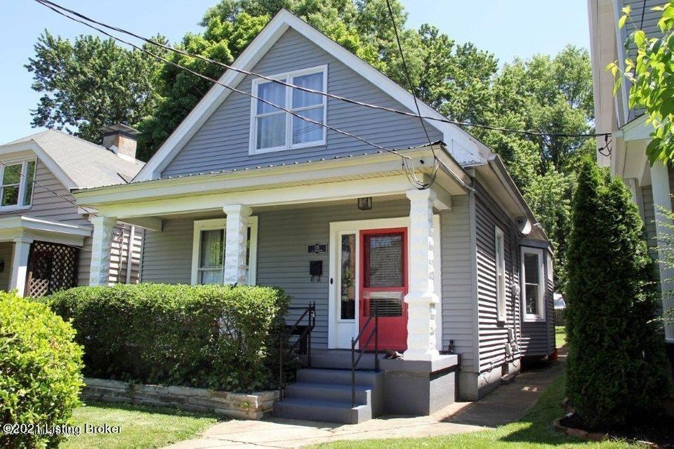Great opportunity in Crescent Hill neighborhood, close to all the restaurants and shops on Frankfort Avenue. This home has 2 bedroom's and 2 full baths, hardwood floor throughout, beautiful mantle and gas fireplace with built in bookcases and the primary bedroom has a deck off the 2nd level. This home has off street parking in the back for...