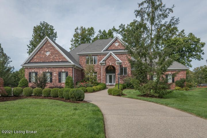 Located in Lake Forest (Landmark Estates Section), on a private cul-de-sac with views of the 17th and 18th fairways, this exquisitely designed; Mike Blacketer built home is the epitome of quality!  You are greeted by a grand, two-story foyer that opens to huge great room with a wood/gas fireplace and custom cabinetry.  The formal dining room offers a built-in buffet and mirrored alcove which leads to the butler's pantry with wine rack and wine cooler, next to a faux-painted powder room.  The enormous gourmet kitchen has gorgeous cherry cabinets, granite countertops, large island with breakfast bar, GE Profile double ovens, warming drawer and built in refrigerator. The cozy hearth room boasts a gas fireplace with granite hearth and built-in cabinetry. This is THE house you're looking for if