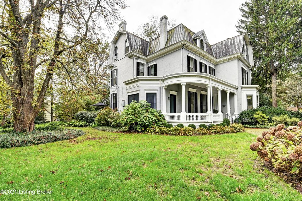 Here is your opportunity to own one of Louisville's historic Grand Dames in the highly sought-after Cherokee Gardens location! It was built perhaps as early as 1840 & was one of two residences built on the 36-acre Viglini Estate. The spectacular 1.1+ acres with gorgeous mature trees, lush plantings and meandering paths provide enormous privacy!...