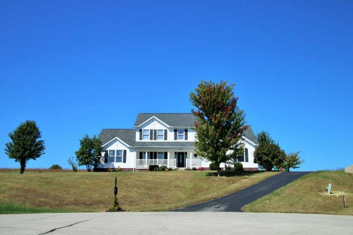 Districted for Oldham County Schools; Breathtaking curb appeal, the heartbeat of the cul de sac!