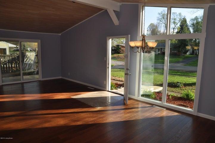 Floor to ceiling custom windows