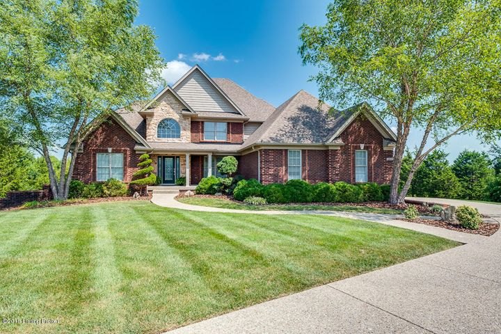 This gorgeous 5 bedroom, 4.5 bath home is positioned on 5 beautiful rolling acres in East Louisville! Just minutes from the Gene Snyder.