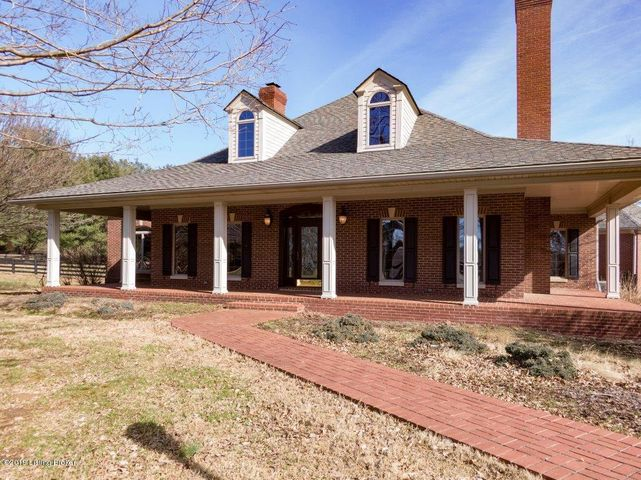 Expansive covered porches