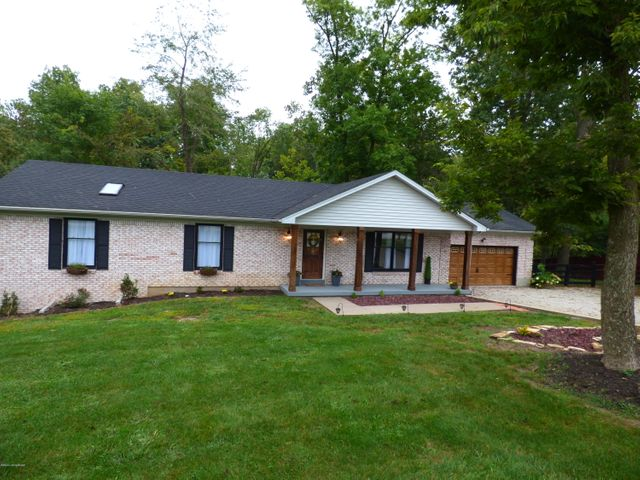 Pretty brick ranch sitting on 1.18 acres.
