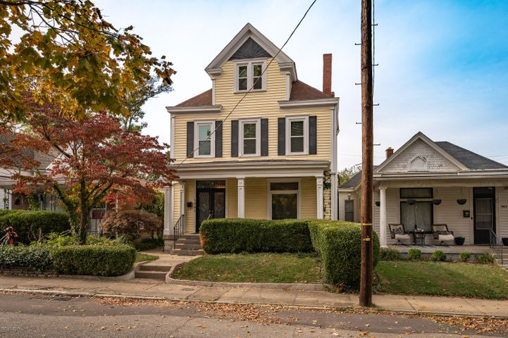 Located in the Deer Park neighborhood, this home offers 4 bedrooms, 2 full baths, an unfinished walk-out basement, and a one-car detached garage