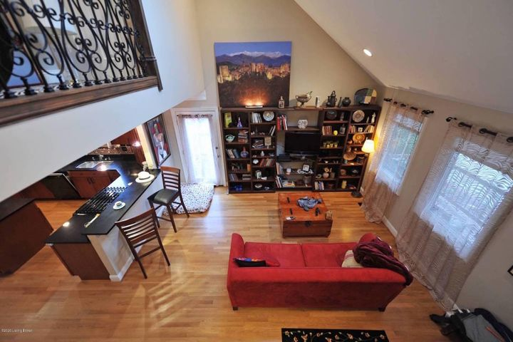 great room from 2nd floor