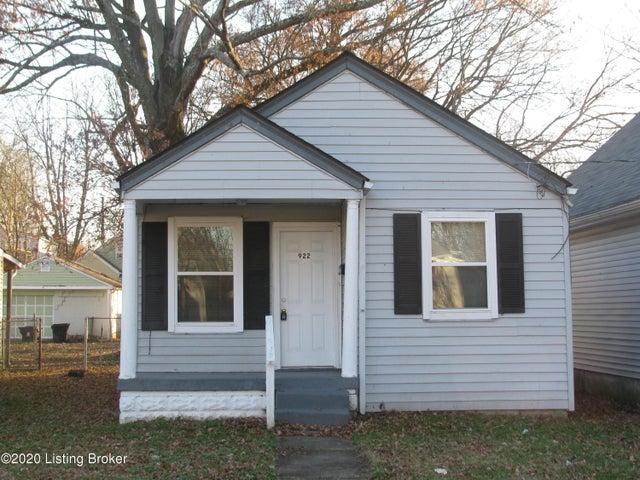 922 Camden Ave, Louisville, KY 40215