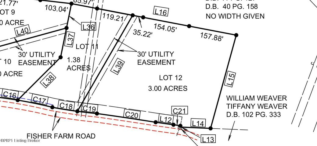 lot 12 Fisher Farm Rd, Tract, Bedford, KY 40006