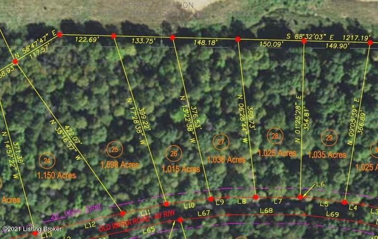 Lot 25 - 0 Old Iberia Rd, Clarkson, KY 42726