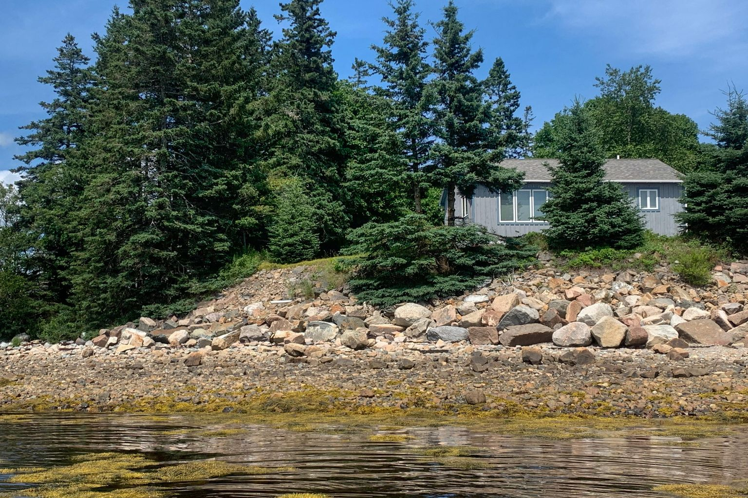 44-14WesternWay-BassHarbor-KS This coastal retreat is located on the shore of Bass Harbor. Show more