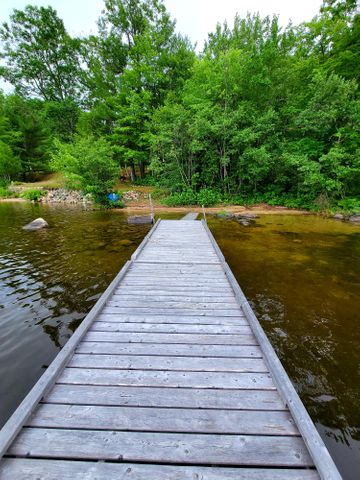 Deeded waterfront across the road
