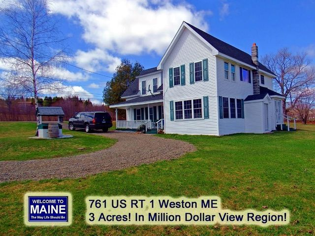 761 Us Route 1, Weston, ME 04424