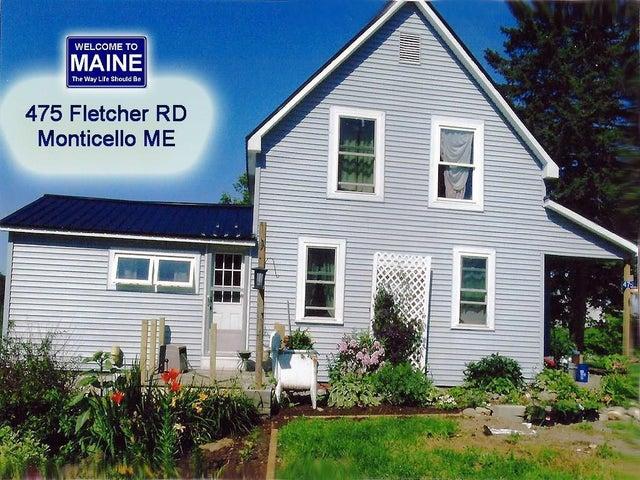 475 Fletcher Road, Monticello, ME 04760