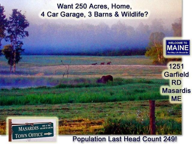 1251 Garfield Road, Masardis, ME 04732