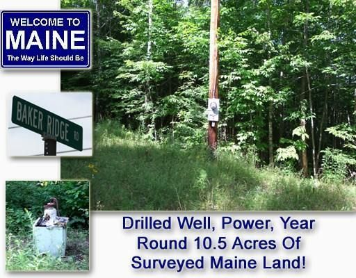 Lot 15 Baker Ridge Road, Danforth, ME 04424