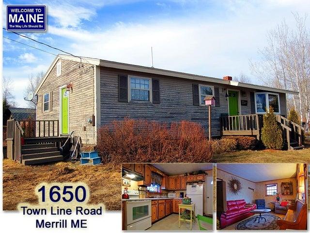 1650 Town Line Road, Merrill, ME 04780