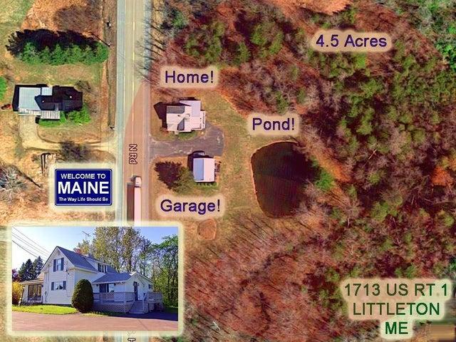 1713 Us Highway 1 Road, Littleton, ME 04730