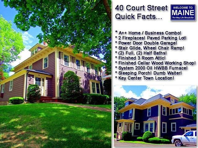 40 Court Street, Houlton, ME 04730