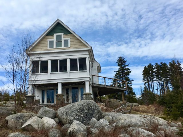 Dyer's Island Timberframe