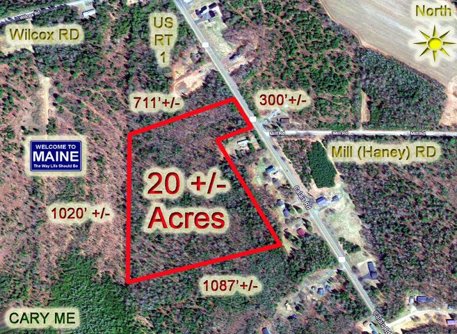 Lot 39 US Route 1 Highway, Cary Plt, ME 04471
