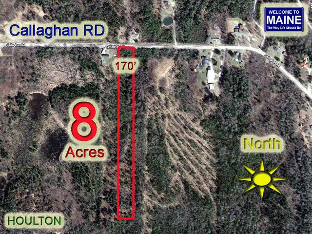 Lot 8 Callaghan Road, Houlton, ME 04730