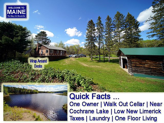 1980 County Road, New Limerick, ME 04761