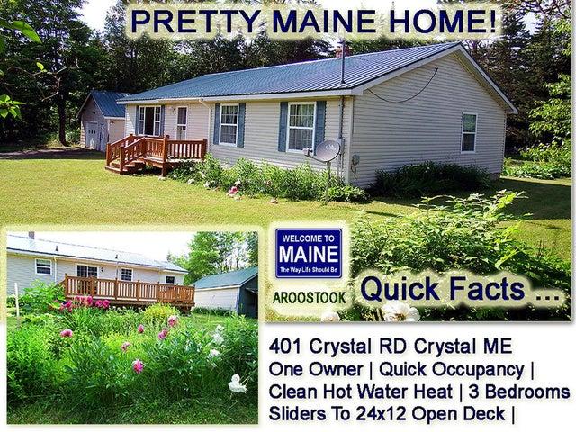 401 Crystal Road, Crystal, ME 04747